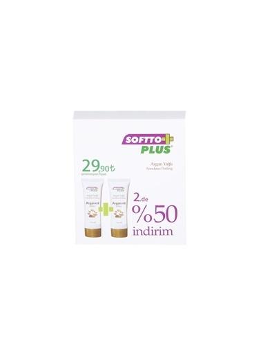 Softto Plus Argan Yağlı Peeling( 2'li Set ) Renksiz